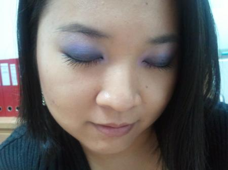 [LOTD | Office Week Series] elf Little Black Beauty Book - Light Purplish Blue