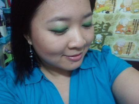 elf Little Black Beauty Book - Light Green - eyes closed