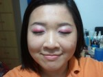 how-to, makeup, red glittery eyes, CNY-inspired makeup, red theme eye makeup, makeup tutorial, makeup pictorial,
