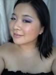 Valentine's Day makeup, romantic makeup, valentines day makeup, purple & pink makeup, makeup tutorial, makeup pictorial, how-to makeup, alluring makeup